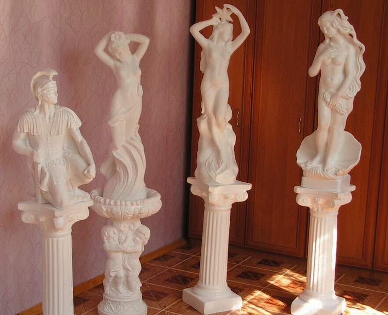 Гипсовая скульптура своими руками